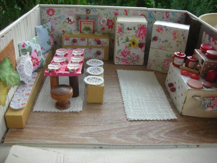 Barbie Bedroom In A Box: Love This One. Found On Cath Kidston's FB Page In Her