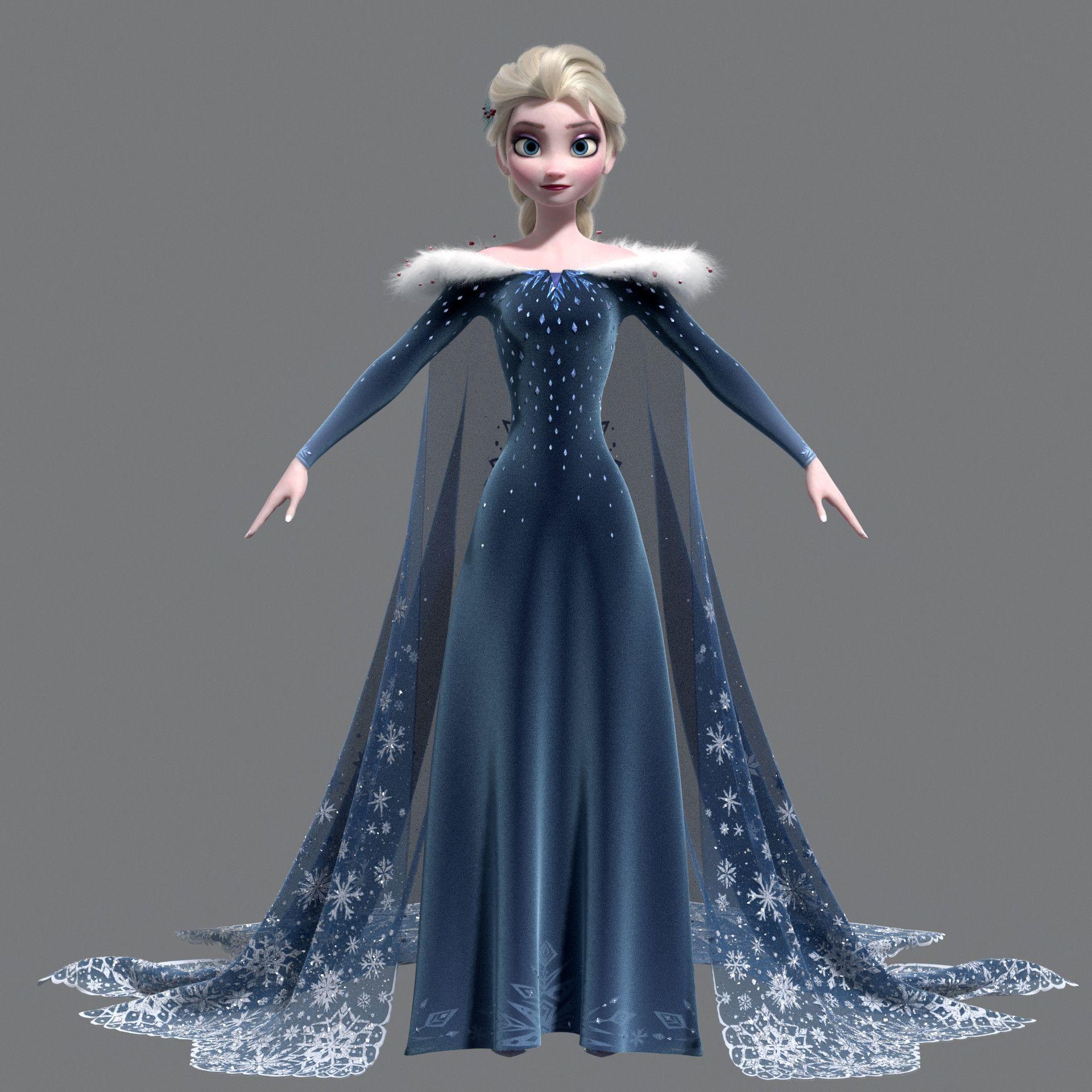 Artstation Elsa Jay Jackson Disney Princess Dresses Disney Princess Frozen Disney Princess Wallpaper