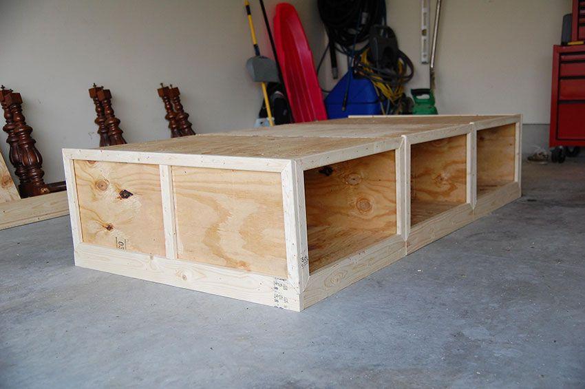 diy beds using book shelves | Diy+daybed - Diy Beds Using Book Shelves Diy+daybed Furniture Pinterest