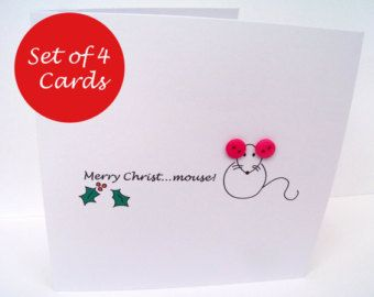 Christmas card embroidered rudolph the red nosed reindeer paper christmas card embroidered rudolph the red nosed reindeer paper handmade greeting card holiday card personalised card etsy uk m4hsunfo