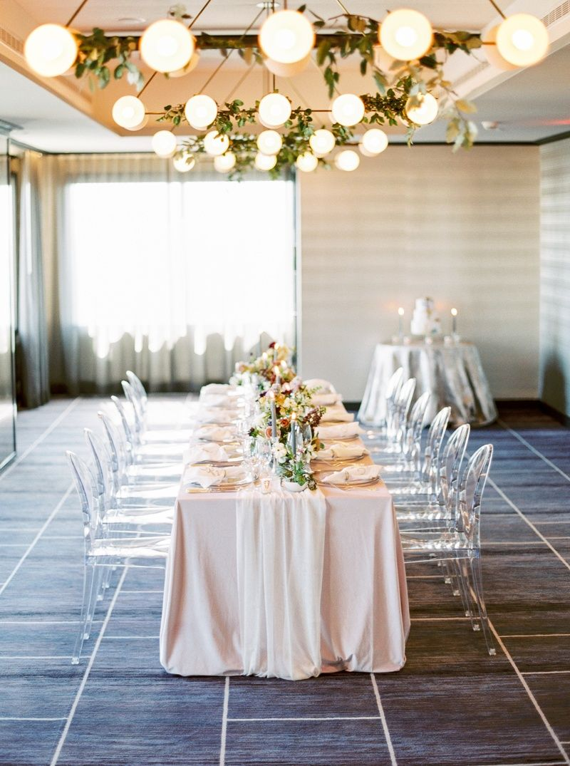 Over the top wedding decorations  Colorful Twist on Luxe Wedding Inspiration in this Contemporary