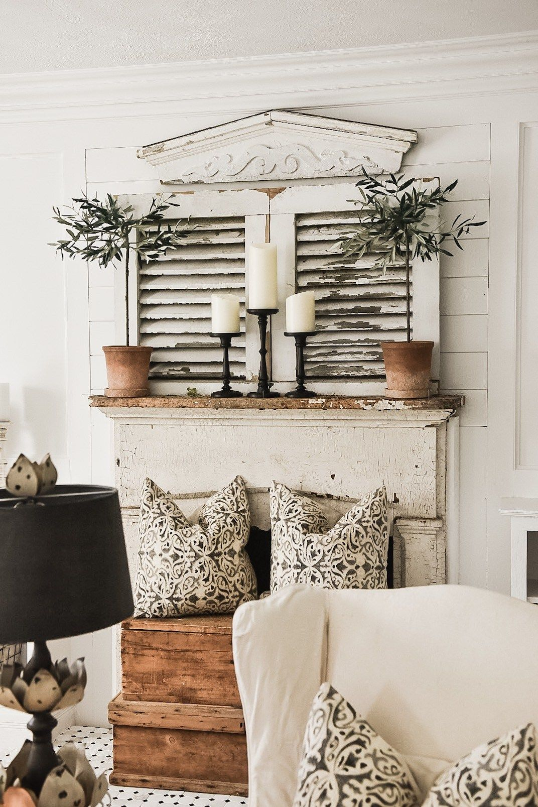 Four Simple Ways To Style A Mantel Country House Decor Farm