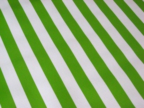 Green Striped Tablecloth