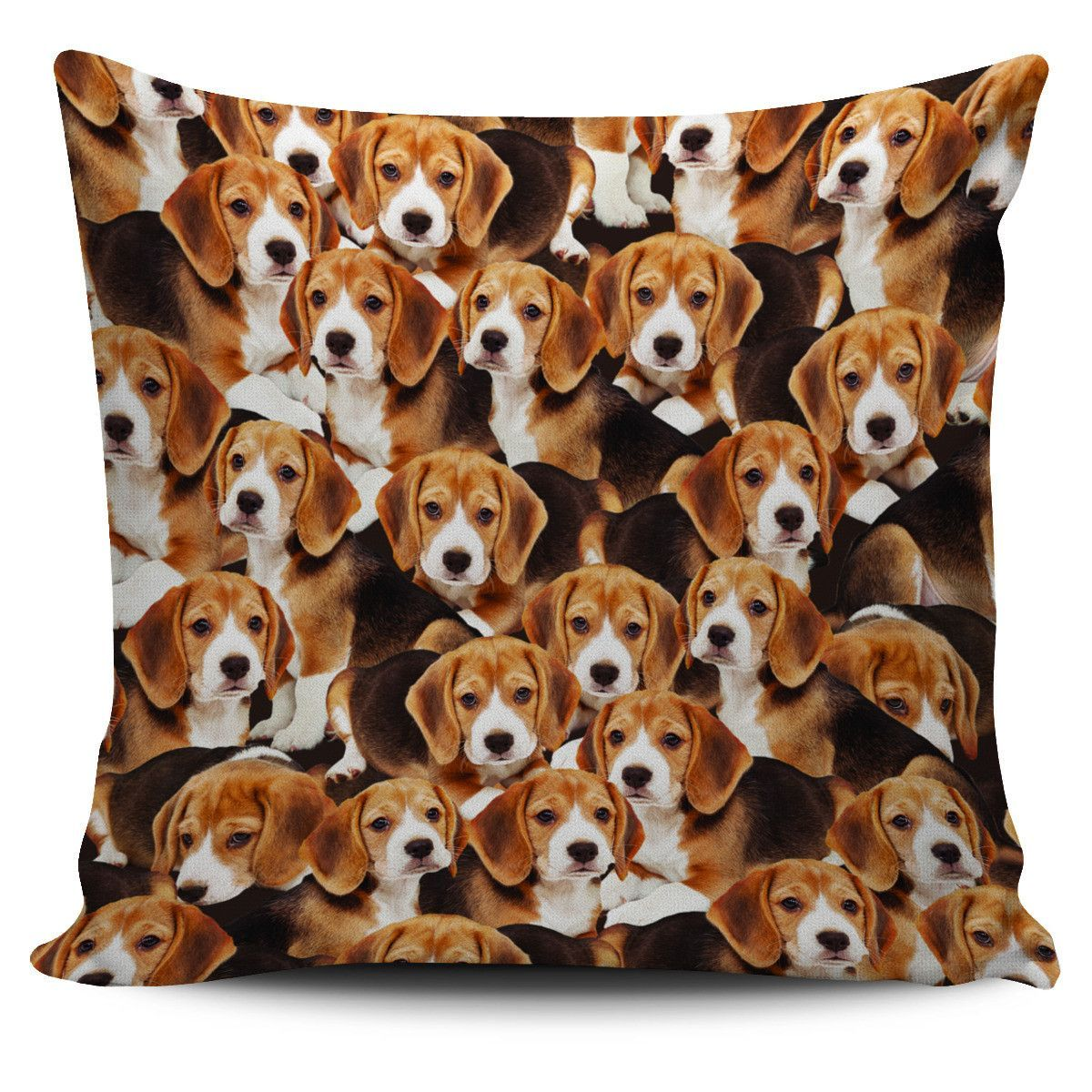 Beagle Puppy Collage Pillow Case Beagle Puppies