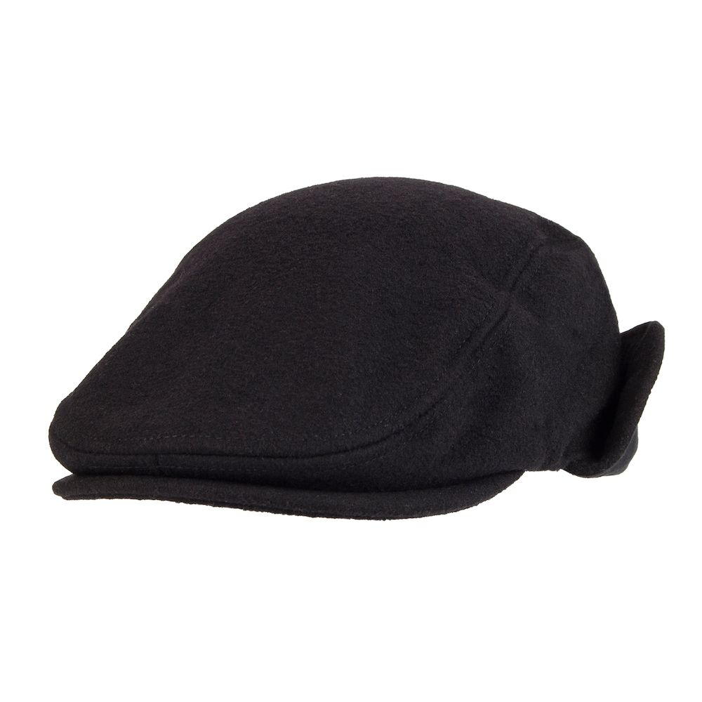 18fe0b1f86ff1 Men s Dockers® Solid Melton Wool-Blend Ear Flap Ivy Cap