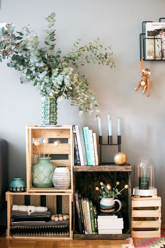 Hy Interior Blog Decorating With Wine Crates