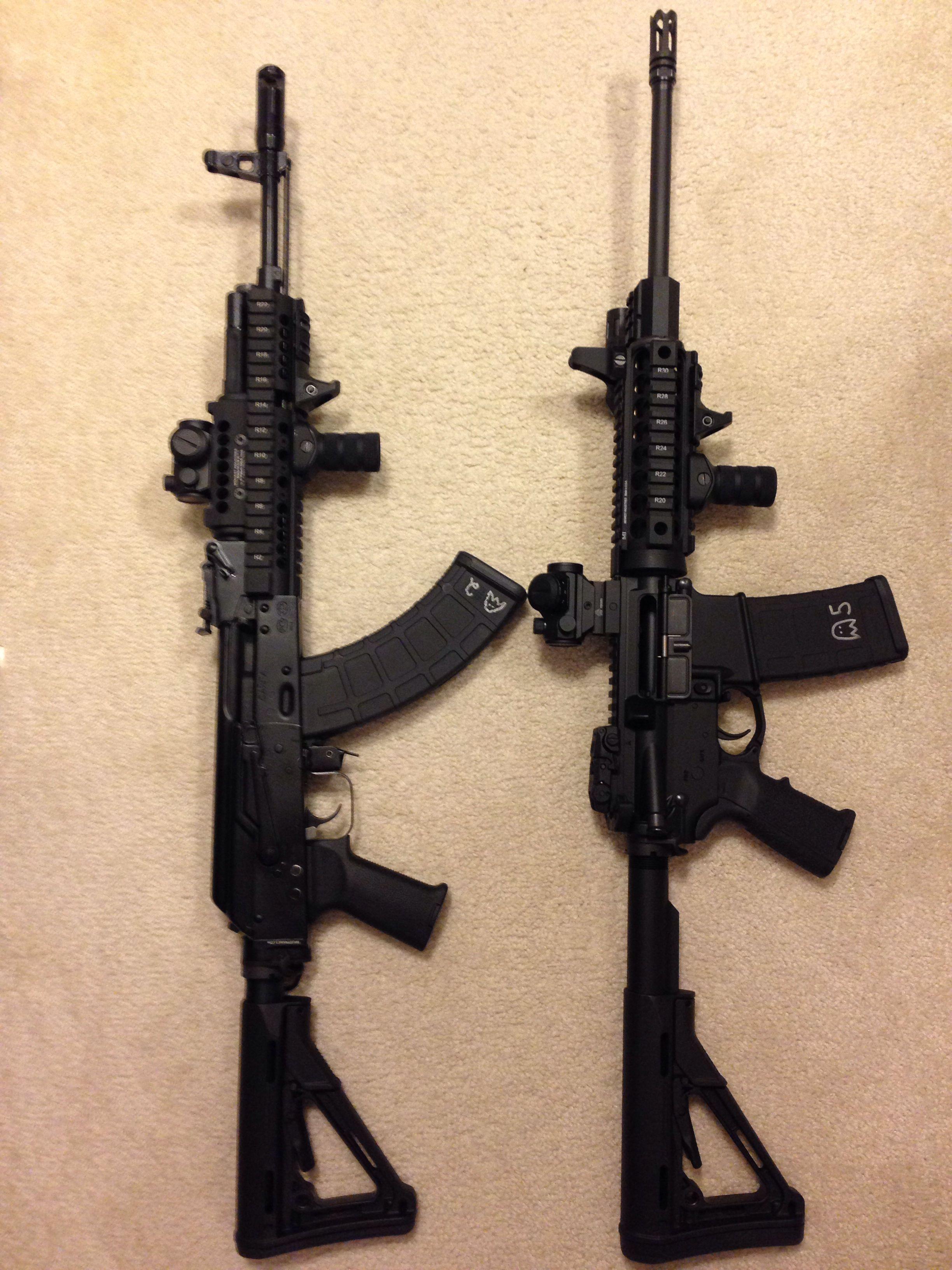 Tactical AR15 & AK47 Saiga, Dpms, MidwestIndustries,Inforce