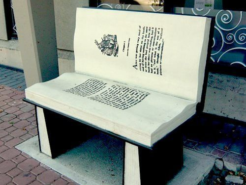 not sure if i would be able to sit on this. i was raised with the idea that stamping on, sitting on and throwing books is unacceptable!
