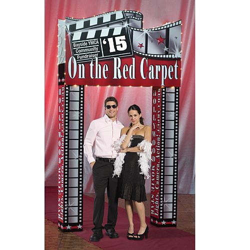 Movie Theme Standee Cardboard Cutout standee Hollywood Entrance Pizzazz