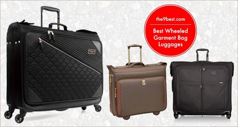 Best Wheeled Garment Bag Luggages For Travel And Business