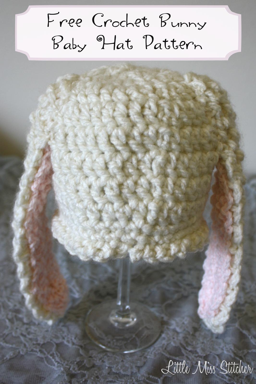 Crochet Bunny Hat Pattern New Ideas