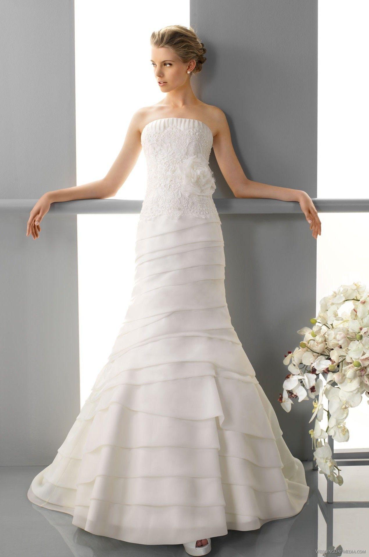 Alma Novia - 129 Feria - 2013 $302.99 #alma #novia #bridalgown #feria #bridal #wedding #mywedding #weddingdress