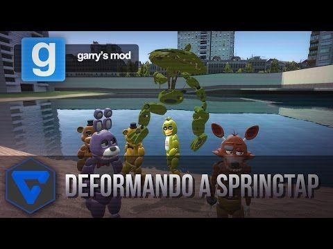 FIVE NIGHTS AT FREDDY'S NEW TOY MODEL ANIMATRONICS REVIEW GMOD - YouTube
