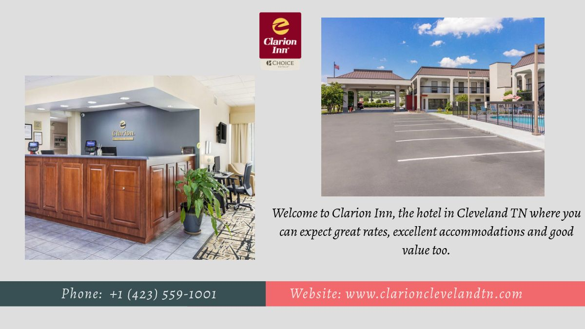 Clarion inn hotel in cleveland tn in 2020 hotel