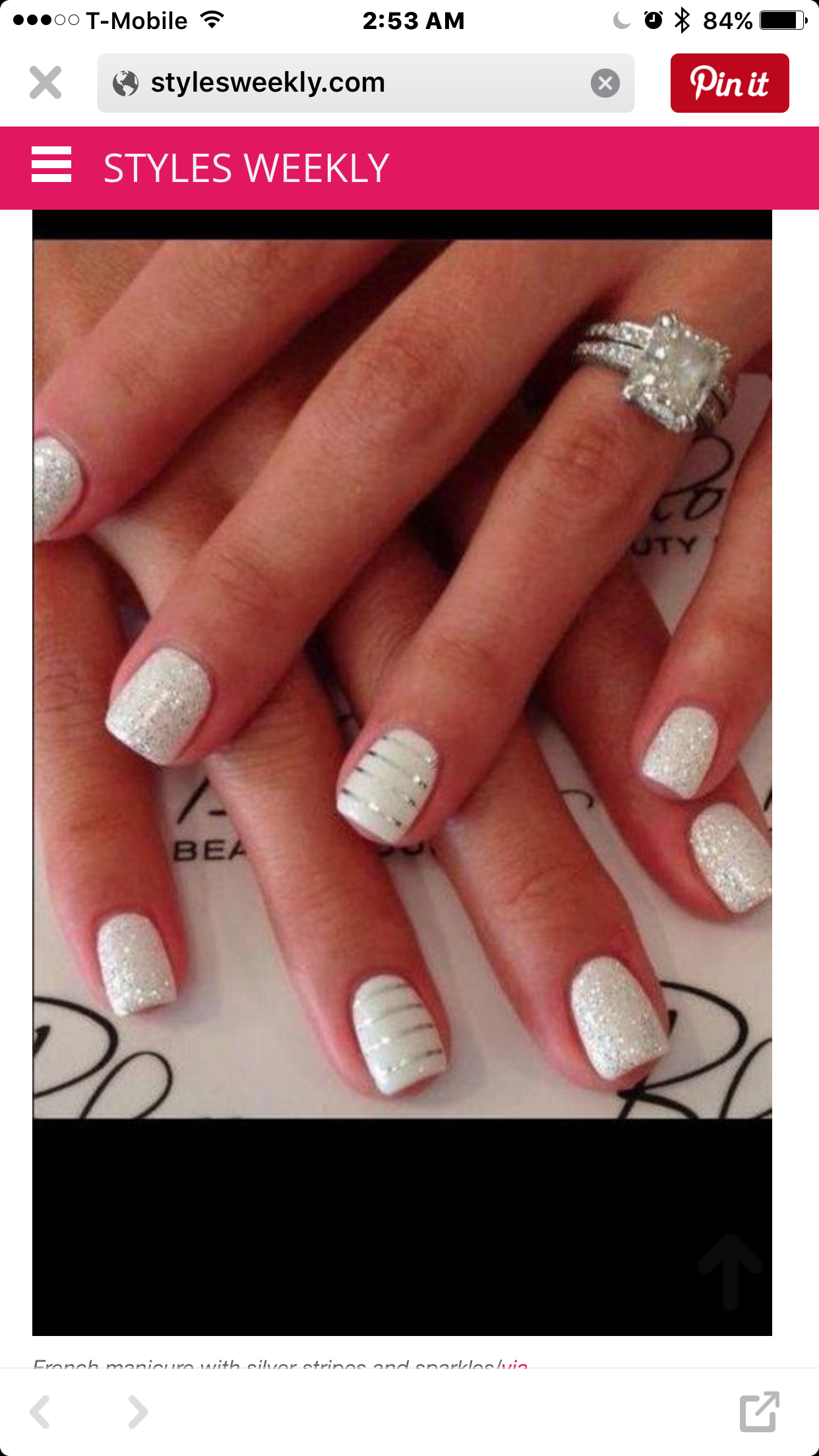 Pin by Sheryll Lynette on Fashion! Nails! | Pinterest