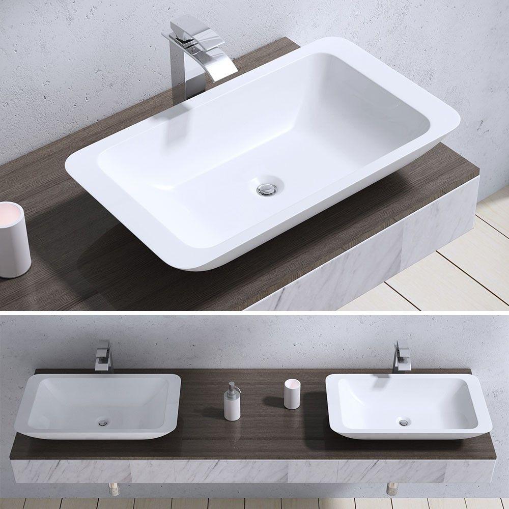 Design Aufsatzwaschbecken Aus Gussmarmor Colossum801 Waschbecken Waschtisch Handwaschbecken Waschbecken Aufsatzwaschbecken Und Arbeitsplatte