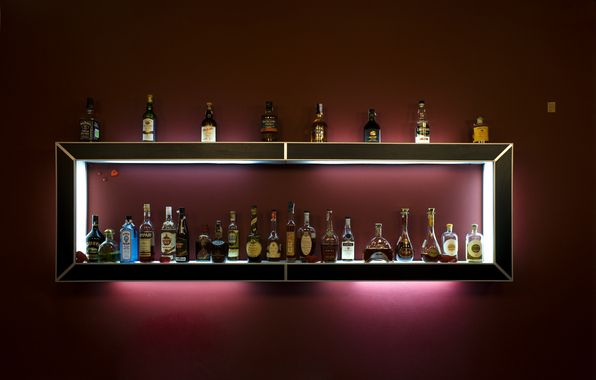 Nice Bar To Build At Home Whisky Regal Alkohol Regal Und