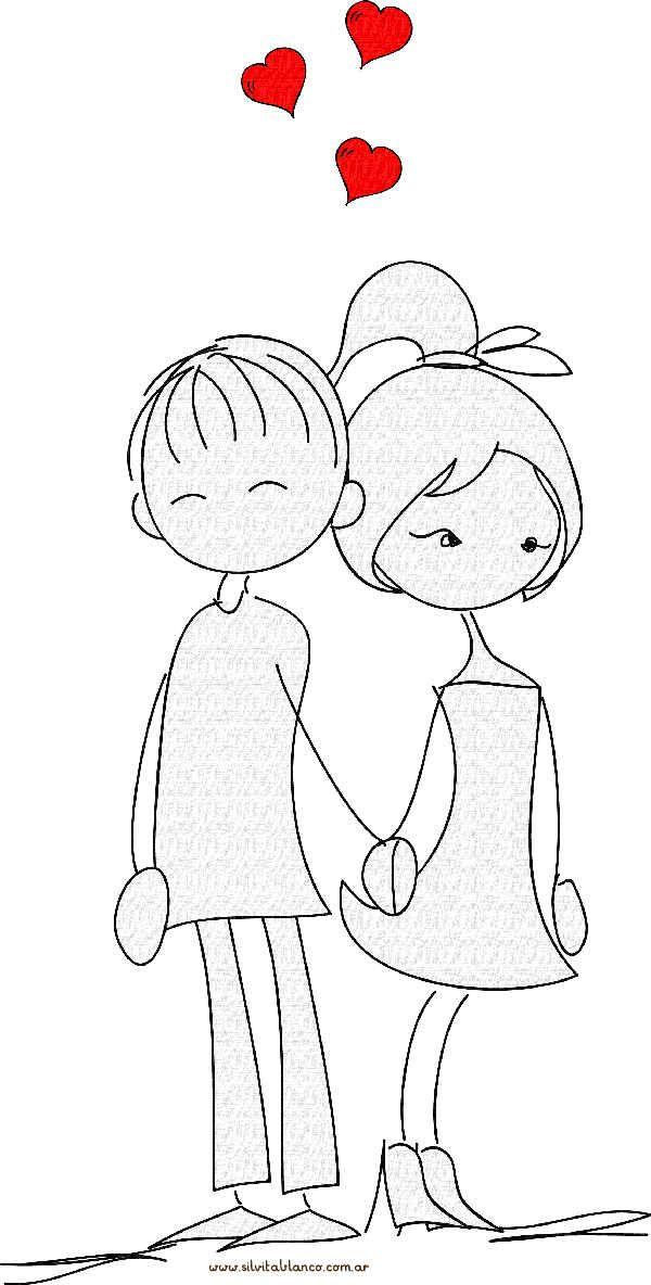 Munecos Palito San Valentin Desenhos De Amor Desenhos Divertidos Desenhos Faceis