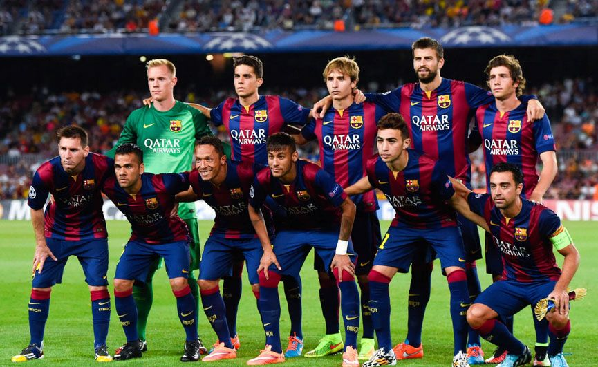 Fc Barcelona 2015 Players