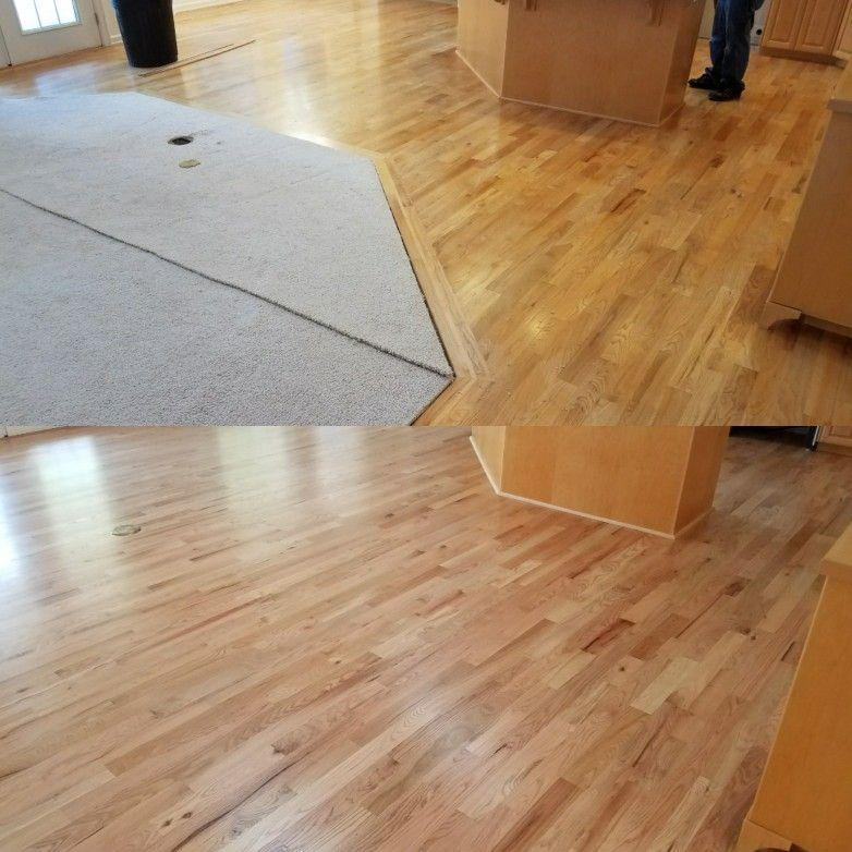 3 1/4 Red Oak Hardwood. Sanded, Sealed & Finished by Mid