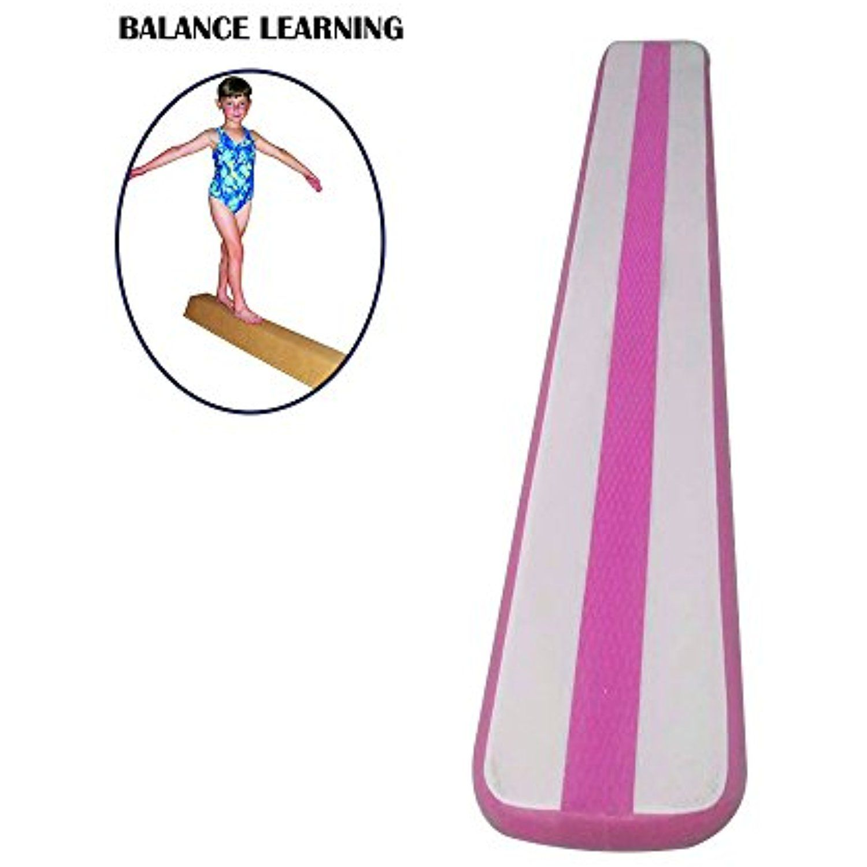 Gymnastics air balance beam inflatable practice training
