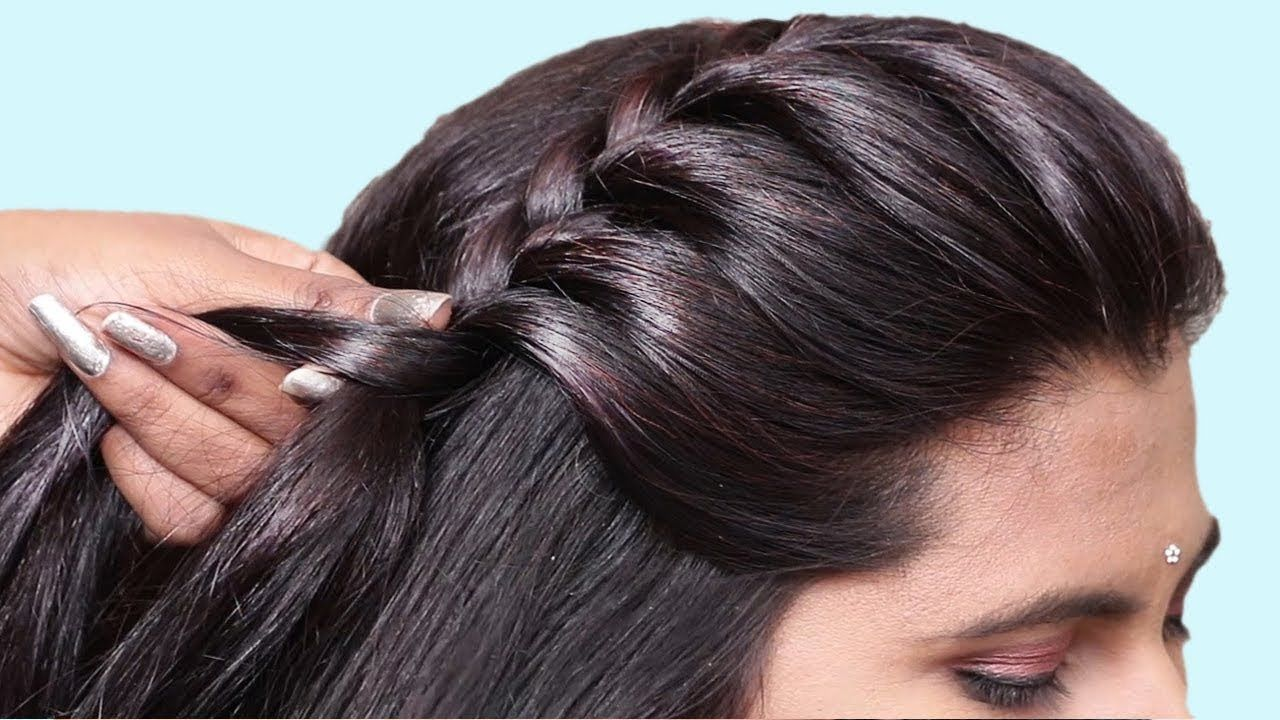 Simple Hairstyle For Everyday hairstyle  Quick hairstyle for
