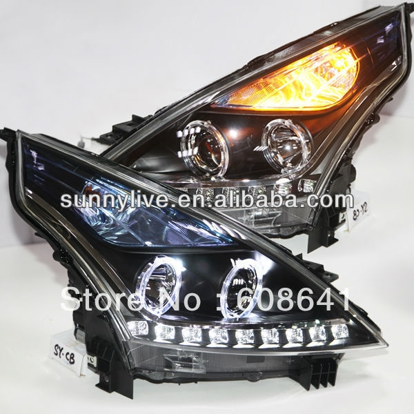 Cheap headlights wiki buy quality headlight rechargeable directly from china headlight amber suppliers for nissan teana angel eyes led headlight 2008 to