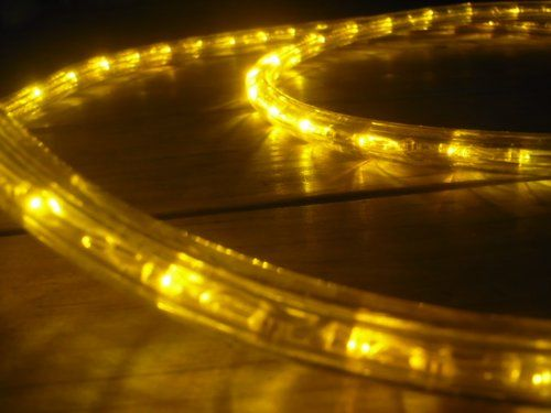 10ft Brilliant Amber 3 Wire Chasing Led Rope Light Kit Christmas Lighting Outdoor Rope Lighting You Can Get M Led Rope Lights Outdoor Rope Lights Rope Light