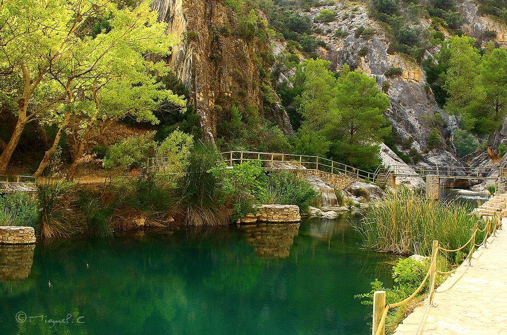 Nos encontramos con unas piscinas naturales en tarragona for Piscinas naturales en teruel