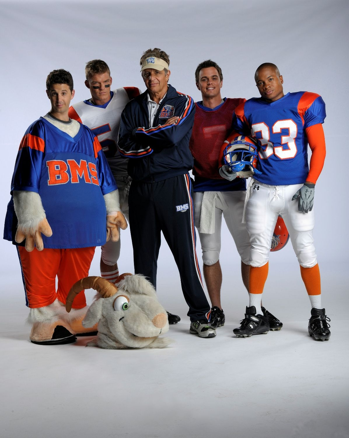 Blue Mountain State Spike 2010 2011 Starring Darin Brooks Alan Ritchson Sam Jones Iii Page Kennedy Chris Romano Frankie Shaw