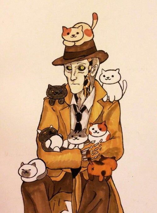 Nick Valentine And Some Cats Fallout 4 Fallout Addiction