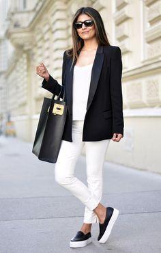 Como usar tênis no office look | Moda, Looks e Looks moda