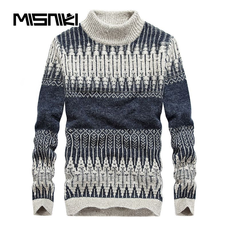 5cf91793f8e Click to Buy    MISNIKI Hot Fashion Autumn Winter Knitted Sweater ...