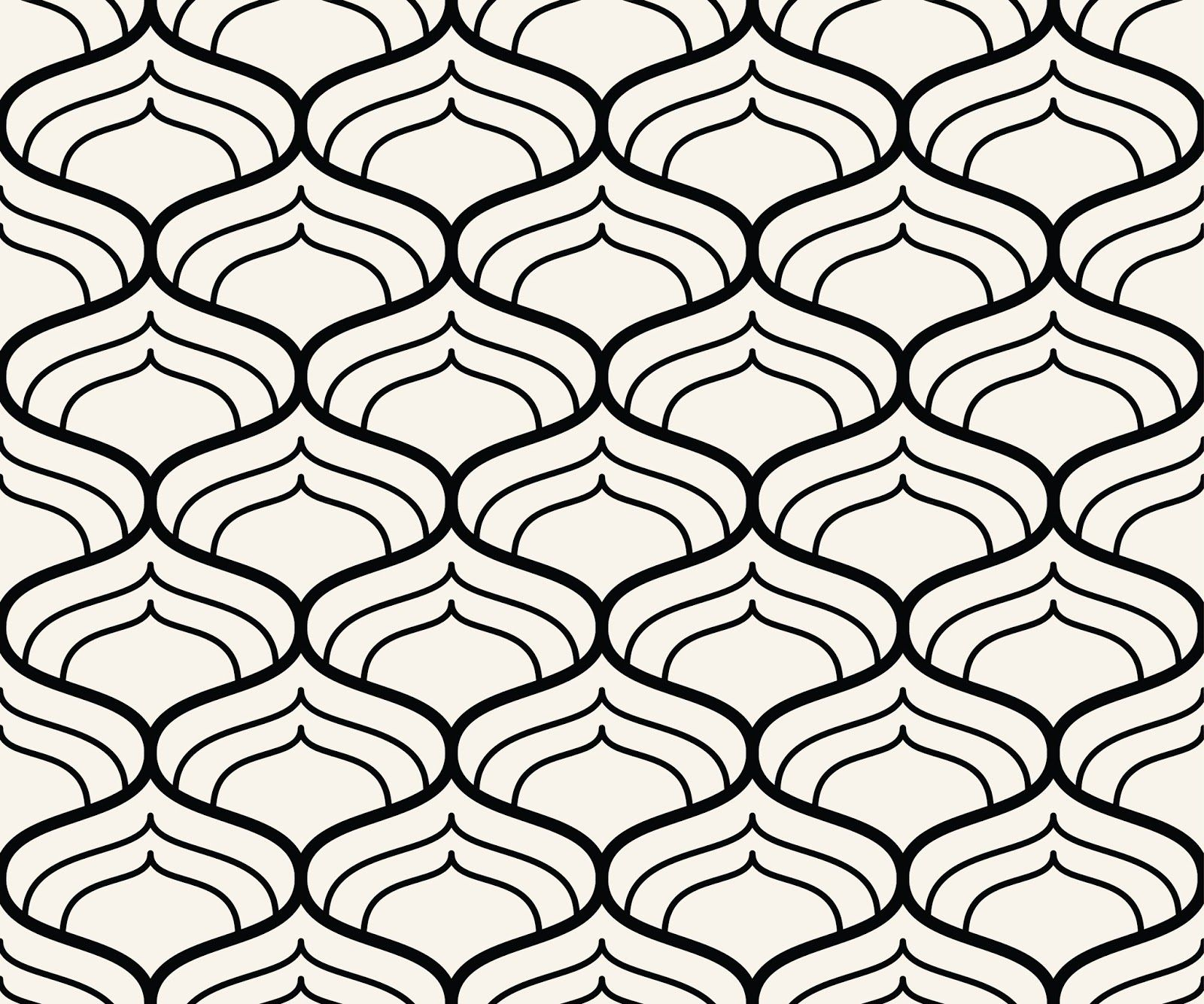 Petalled Seamless Pattern Vector Free Pattern Vectors Padrao