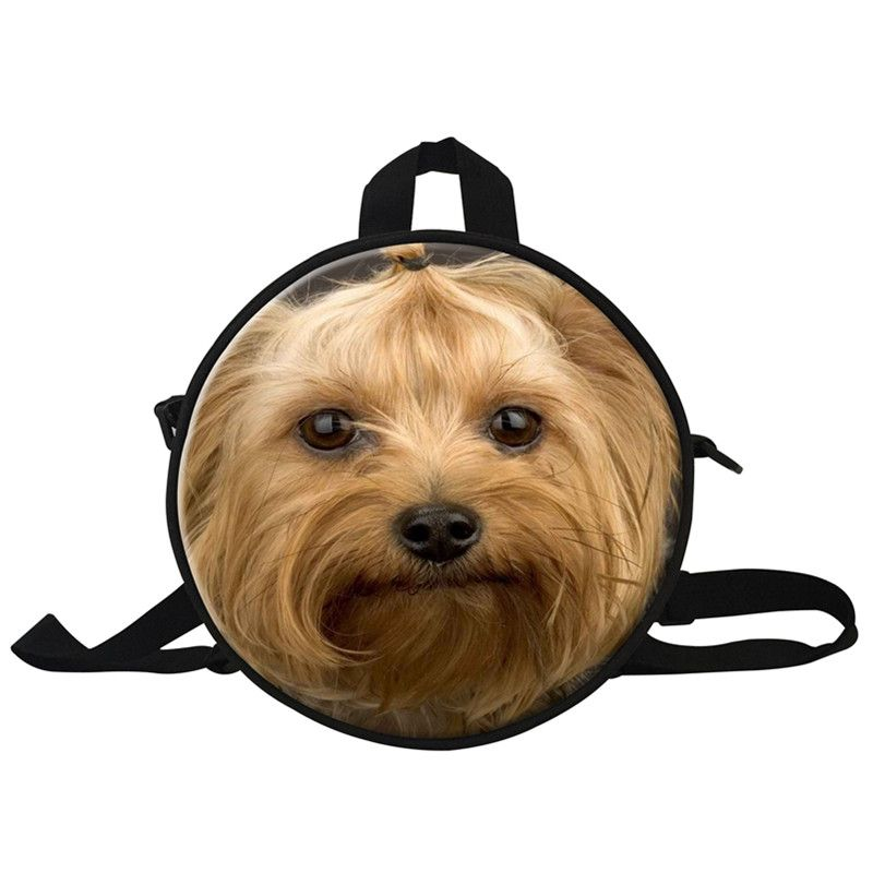 cute 10 inch dog casual backpack for school kids small animal dog 3d print school bags - Small Animal Pictures To Print