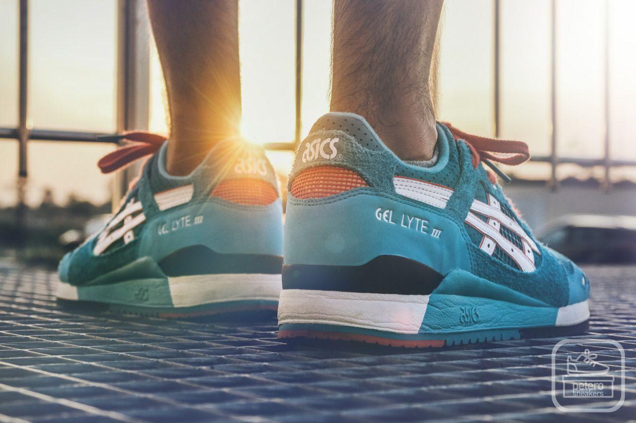 best sneakers c3b1a 48249 peterosneakers: Asics Gel Lyte III Teal Dragon re-issue | A ...
