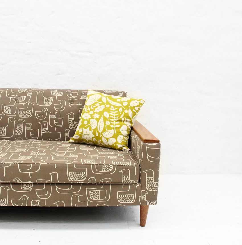 Sofa King Easy: Reupholstered Couch. This Is Pretty Similar To My Couch I