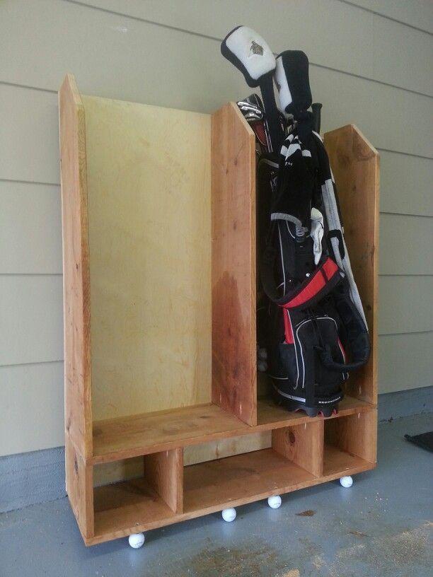 Golf Bag Garage Storage Ideas