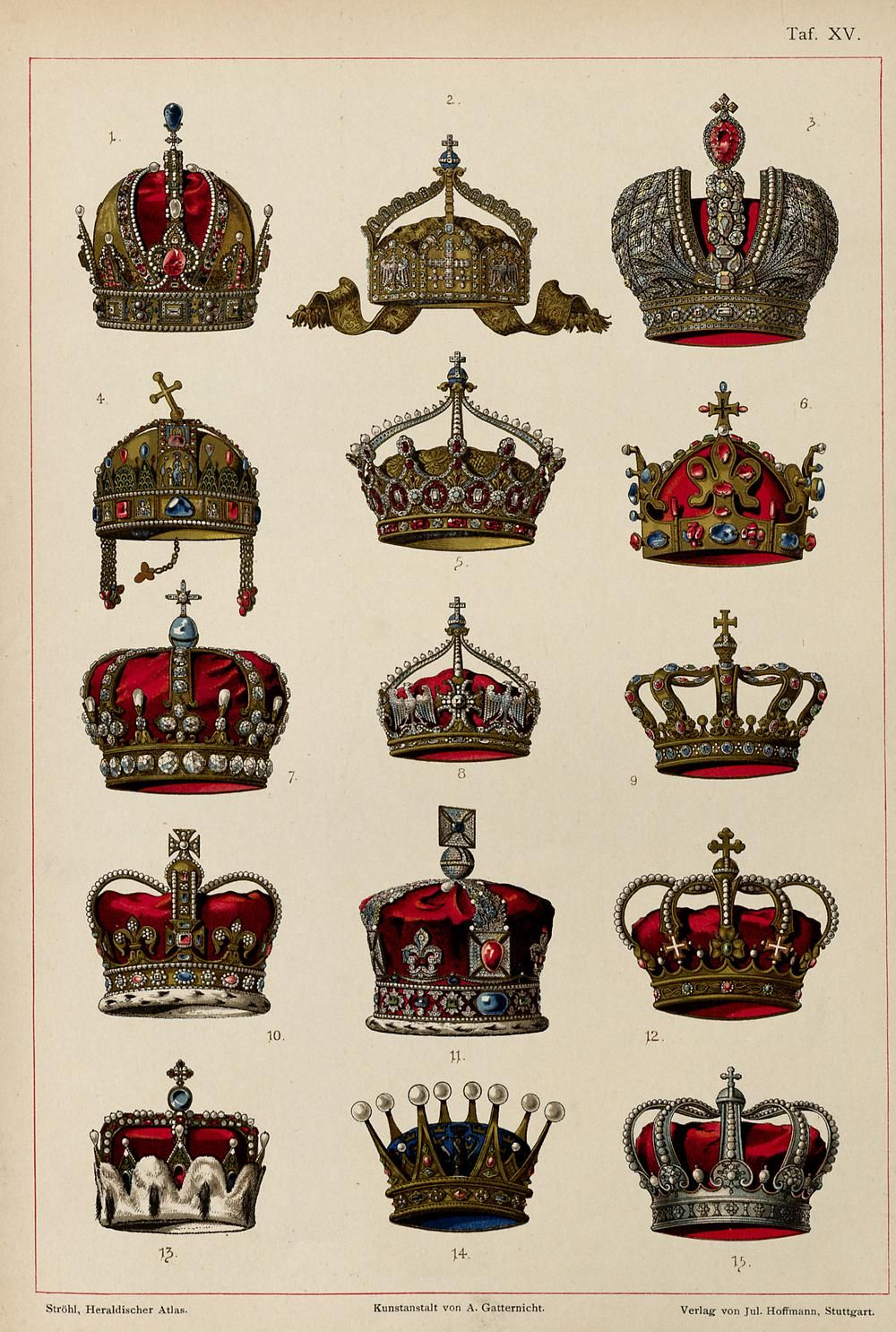 Crown tattoo on tumblr - Austrian Empire Crown Of Rudolf Ii Holy Roman Emperor2 German Empire