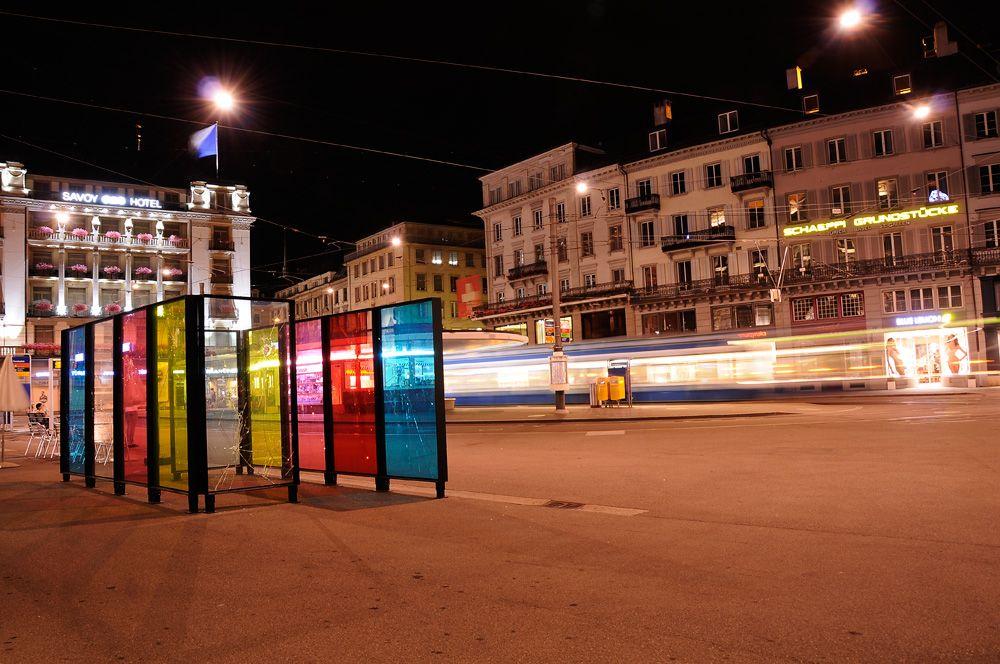 Gasträume 2013: Paradeplatz, Dystopia Stalker, Lori Hersberger
