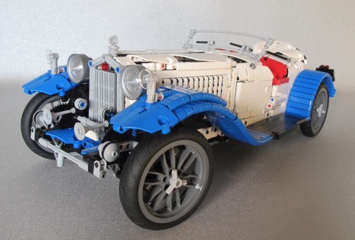 LEGO 1932 Alfa Romeo Spider by marthart | Lego technic | Pinterest ...