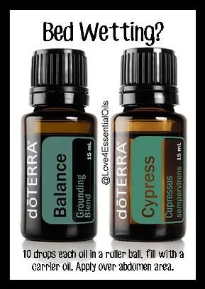 Bedwetting can be frustrating for parents -- try this natural remedy. Order at: www.mydoterra.com/love4essentialoils/