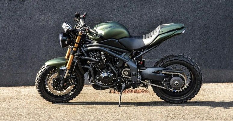 Triumph Speed Triple Scrambler By Gb Motors 94 Triumph Speed Triple Triumph Bikes Scrambler