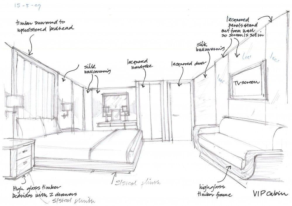 Beautiful Interior Designers Drawings Exterior Design Interior
