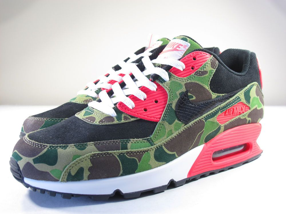 quality design a12d8 e08f9 eBay Sponsored DS NIKE 2013 AIR MAX 90 ATMOS DUCK CAMO INFRARED 11 FLYKNIT  1 180 95 97 PLUS