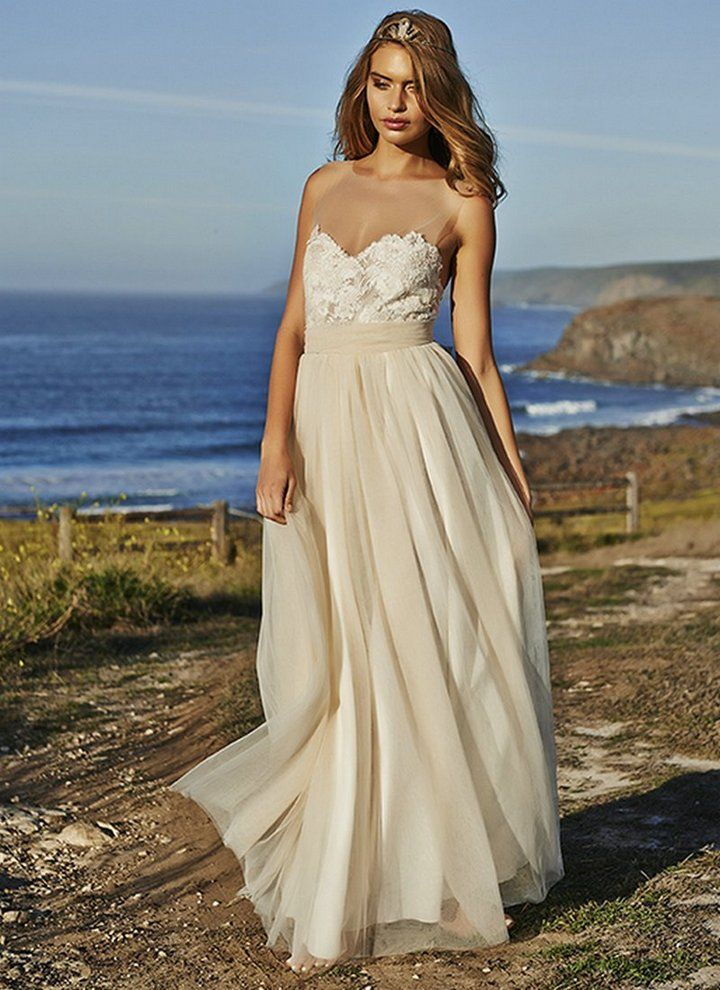Champagne Colored Wedding Dresses | Wedding | Pinterest | Champagne ...
