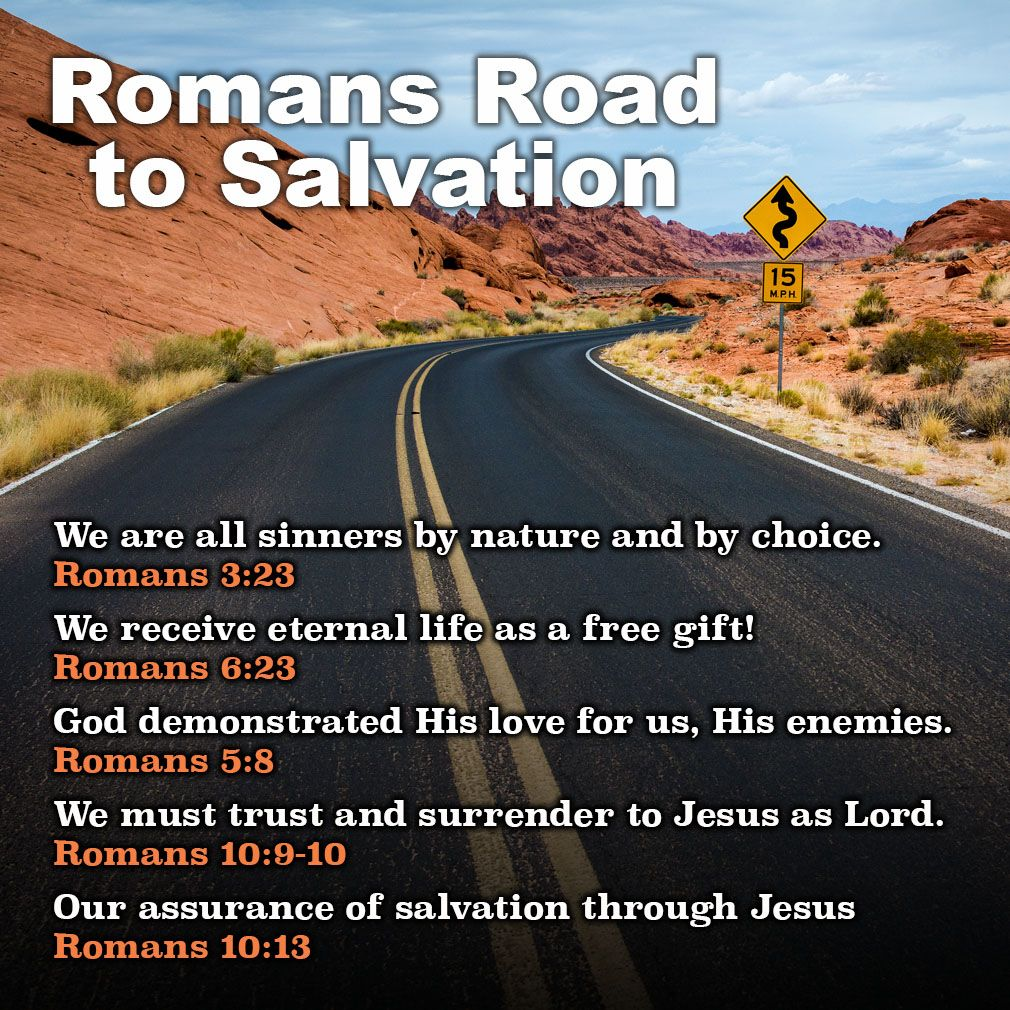 the romans road evangelism method