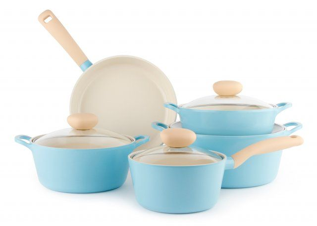 Neoflam Retro Ceramic Cookware Review Giveaway Ceramic Cookware Set Ceramic Cookware Cookware Set