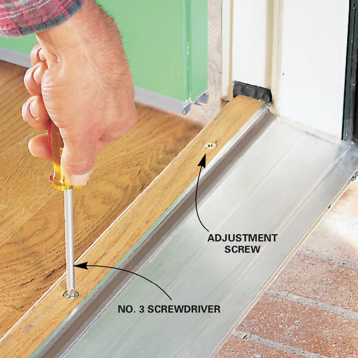 How to stop door drafts around entry doors door draft