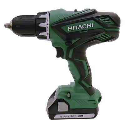"DV18DBFL2 New Hitachi 1//2/"" Cordless Brushless Hammer Drill 18V w// 2 Batteries"